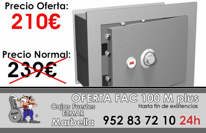 Oferta caja fuerte fac mod 100 m plus en marbella - Caja fuerte fac ...